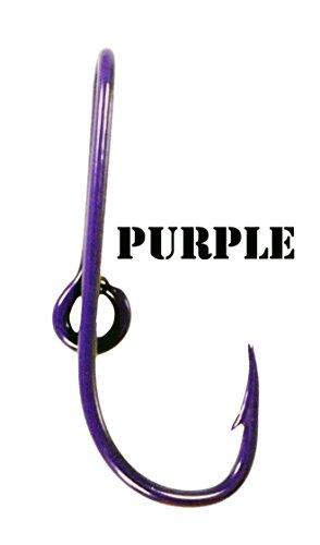 BT Outdoors Purple Hat Hook Pin Fish Hook for Hat Purple Fish Hook Cap Clip