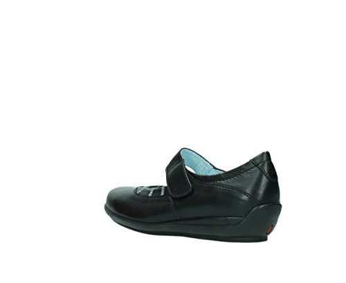 Mary Wolky Leather Black Confort Cachemire nbsp;Marion Janes 30000 00379 RRgBWnr