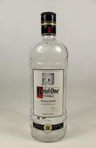 Empty Ketel One Vodka Bottle Decanter 1.75L (Ketel One Vodka)