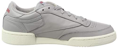 Chaussures De Solid Reebok Mgh Chalk Gymnastique Homme Grey C Multicolore Club 85 Power vintage 000 Red Mu wXRqI