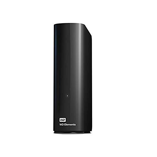 WD Elements Desktop externe Festplatte 14 TB (kompatibel mit USB 3.0 und USB 2.0, hohe Übertragungsraten, stoßfest, robustes Gehäuse) schwarz