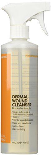 - Smith and Nephew Dermal Wound Cleanser - 16 oz Spray Bottle