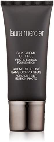 Laura Mercier Silk Creme Oil-free Photo Edition for Women Foundation, Bamboo Beige, 1 Ounce