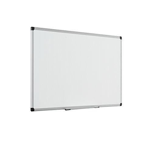 Bi-Office Maya Enamel Aluminium Framed Whiteboard 90x60cm by Bi-Office