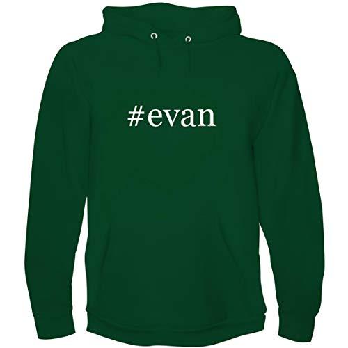 #Evan - Men's Hoodie Sweatshirt, Green, Large ()