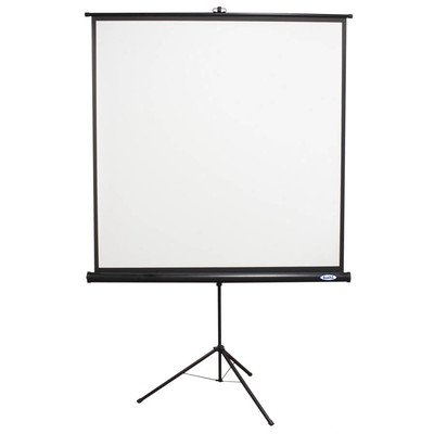 - HMLTPST60BLK - Hamilton Buhl 60x60 TPS-T60/BLK - Value Line - Square Format Projector Screen - Black Housing