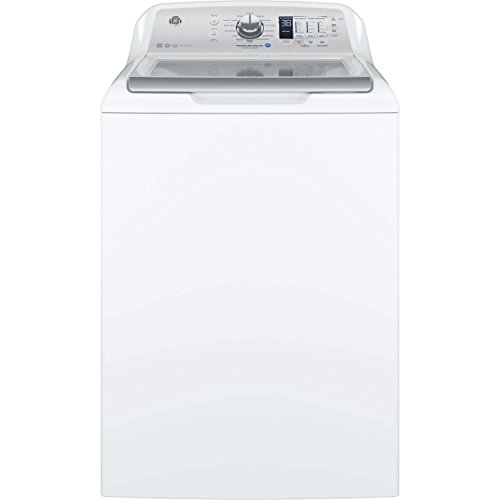 Ge - 4.6 Cu. Ft. 14-cycle Top-loading Washer - White