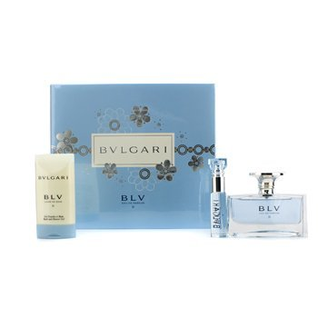 Bvlgari - Blv II Coffret: Eau De Parfum Spray 50ml/1.7oz + Eau De Parfum Spray 10ml/0.34oz + Bath & Shower - Bvlgari 2