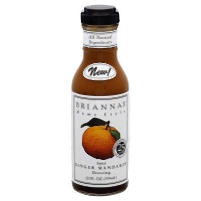 BriannaS, Salad Drsg, Ginger Mandarin, Pack of 6, Size - 12 FZ, Quantity - 1 - Mandarin Salad