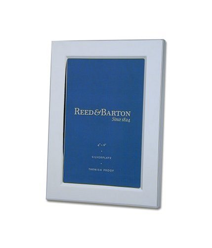 Reed & Barton Classic Channel 4-by-6-Inch Silver-plated Picture (Engravable Picture Frames)
