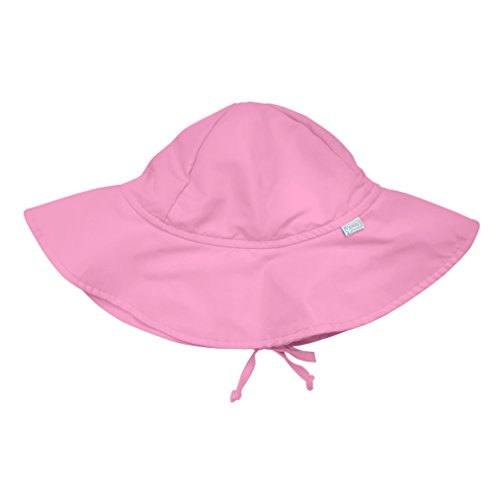 i play. Toddler Brim Sun Protection Hat, Light Pink, 2T-4T