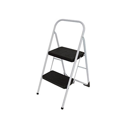 Cosco Two Step Big Step Stool 200 Lb. Capacity 23″ Gray