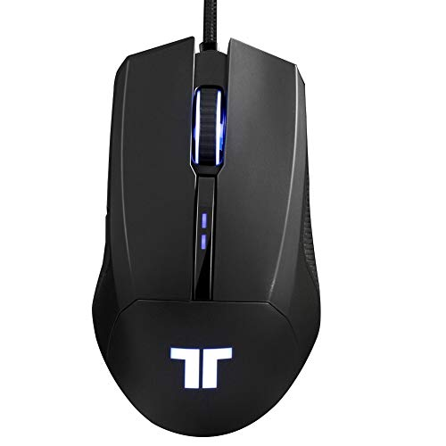 TRITTON TM200 Gaming Mouse with Side Buttons, RGB Breathing Light Gaming Mice Ergonomic High-Precision PC Gaming Mouse, Auto Sleeping for MAC Laptop PC Notebook