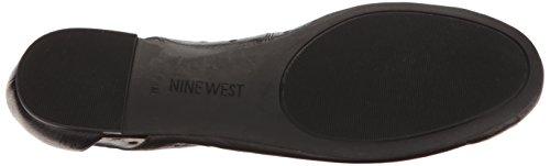 Marie West Étain Nine Plate Chaussure Cuir Noir Gris f5qqwO1p
