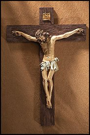 Crucifixion of Jesus Christ HUGE Home Chapel Decoration 21 Inch Crucifix Wall Cross