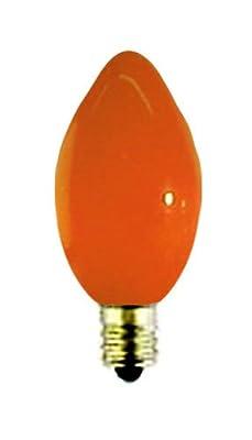 5 Watt C7 Orange Ceramic Replacement Bulb
