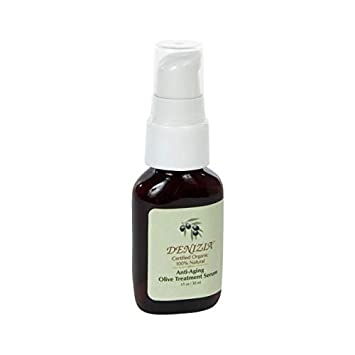 MicrodermaMitt Denizia Organic Plant Based Anti-Aging Facial Oil With Rose Oil and Green Tea Extract
