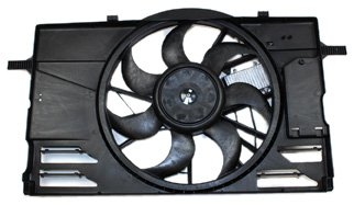 TYC 622090 Volvo Replacement Cooling Fan Assembly