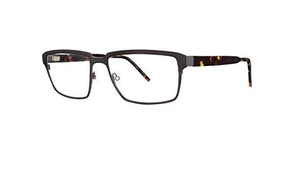 Jhane Barnes PERMUTATION Gunmetal Eyeglasses Size55-17-140.00