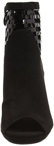 Tamaris 28000 - botas de material sintético mujer negro - Schwarz (Black Comb 098)