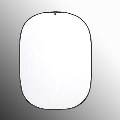 ePhoto TREF4366 43x66-Inches Oval Collapsible Translucent White Reflector by ePhoto