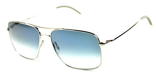 Oliver Peoples Clifton OV1150-S Silver/Chrome Sapphire photochromic glass - Oliver Photochromic Peoples