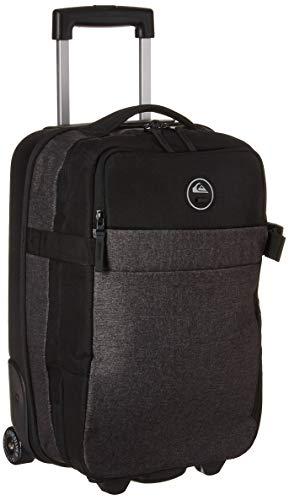 Quiksilver Men's New Horizon Luggage, Black Heather/Black, 1SZ