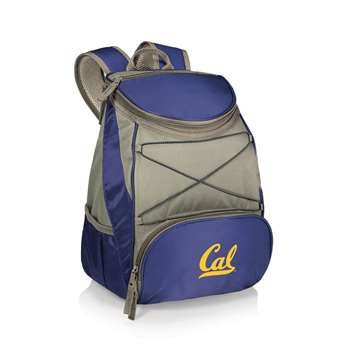 NCAA California Golden Bears PTX Insulated Backpack Cooler, Navy