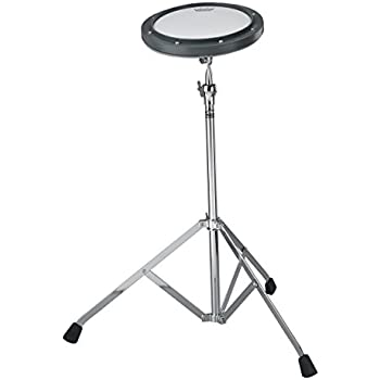 remo rt 0008 st 8 gray tunable practice pad with ambassador coated drumhead and st. Black Bedroom Furniture Sets. Home Design Ideas