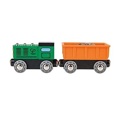 Hape Railway Diesel Freight Train: Toys & Games