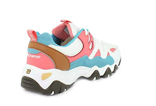 2 D´lites White Pink Skechers tidal Bianco Piece 0 Donna Blue One Waves 5TxqpZR