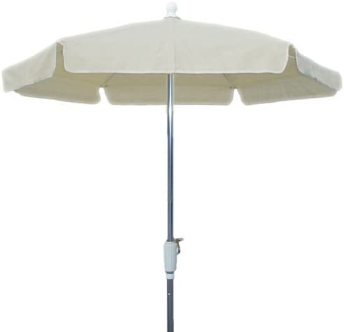 FiberBuilt 76RCRAT-NAT 7.5 foot garden umbrella