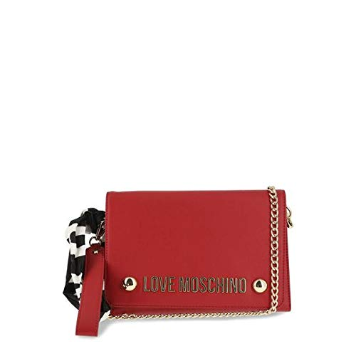 1f0e899769 Moschino Love Moschino Women's Scarf Tie Clutch Bag Red One Size ...