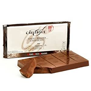 Callebaut Chocolate Block Milk 33.6% cacao 5 kilo / 11 lbs