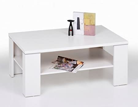 Santos Coffee Table White With Floor Cabinet Amazoncouk Kitchen - Santos coffee table