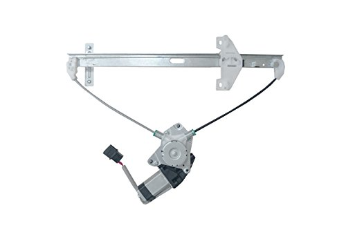 HANSUN 8836-0672 Power Window Regulator With Motor Rear Left Driver Side For Honda - Accord - (Honda Sedan Regulator)