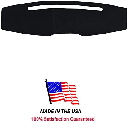 Carpet Dash Cover Compatible with 2005-2009 Ford Mustang Dashboard Cover Mat (Black)