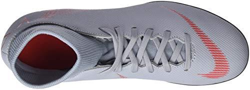Unisex Zapatillas Club Black Fútbol Adulto FG Lt Nike Wolf Grey de Gris MG 060 Superfly Crimson 6 nF1wqA8X