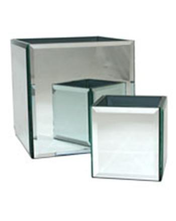 Apac Apac Mirror Cube Vase 10cm Amazon Kitchen Home