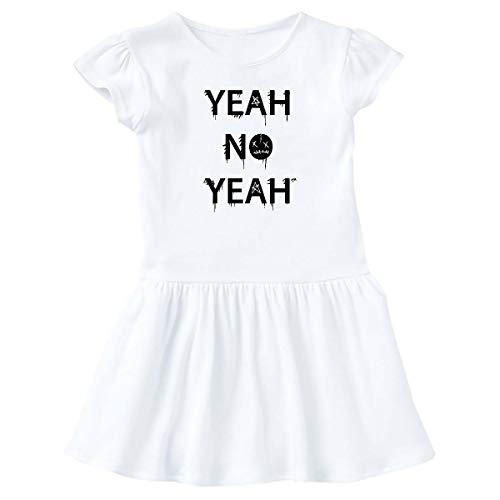 inktastic Yeah No Yeah T-Shirt Infant Dress 12 Months White - Gus Fink Studios