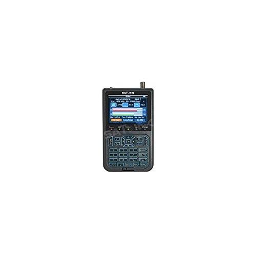 Satlink WS-6908 SE LED by Froggit WS6908se Satfinder mit Tragetasche / Satelliten-Messgerät / LNB / Satellitenfinder / Sat-Anlagen / Pegelmessgerät / Pegelmesser / automatische und manuelle Kanalsuche von DVB-S FTA Programmen / Empfang und Wiedergabe von DVB-S FTA Programmen in Bild und Ton / Farb TFT LC Display mit 3,5