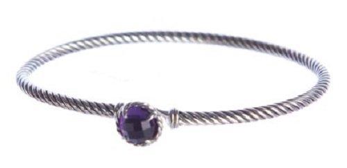 Amethyst Yurman David (David Yurman Women's Chatelaine Bracelet (Amethyst))