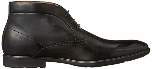 Clarks Gosworth Hi - botas de cuero hombre Negro (Black Leather)