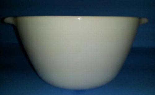Anchor Hocking Fire King Mixing Bowl with Handles - White