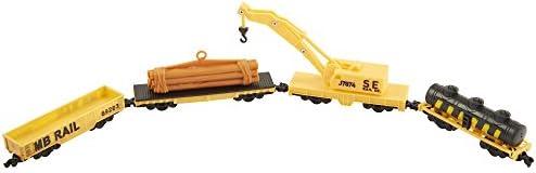 Power Trains 4-Car Pack: Crane Train Car Pack