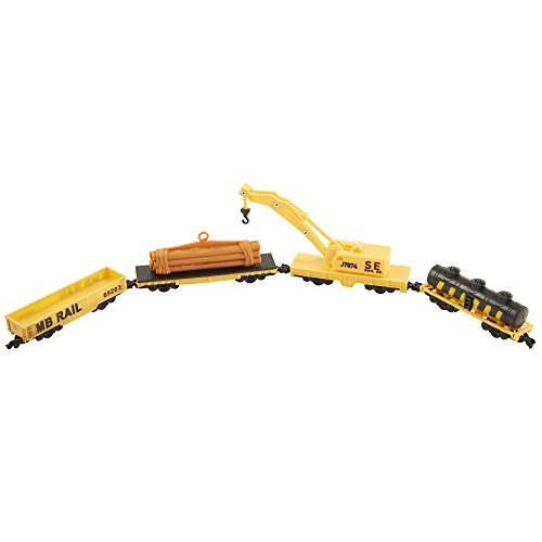 Used, Power Trains 4-Car Pack: Crane Train Car Pack for sale  Delivered anywhere in USA