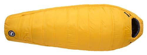 Weatherproof Adult Zip Sleeve - Big Agnes Lost Dog 30 (FireLine Eco) Sleeping Bag, Long, Right Zip, Yellow/Navy