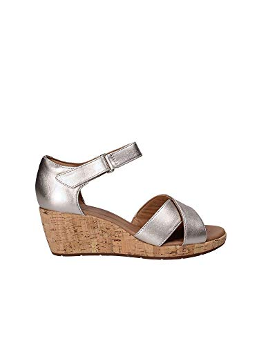 Wedge Croix Womens Nations Sandals Or fit Wide Plaza Clarks wqvFz