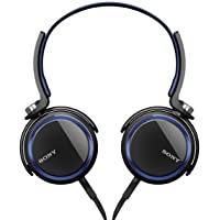 Sony MDRXB400/BLU Extra Bass Over The Head 30 mm Driver Headphone, Blue