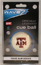 Licensed Ncaa Billiard Pool Cue - NCAA Cue Ball NCAA Team: Texas A&M